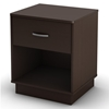Logik Contemporary Nightstand in Chocolate - SS-3359062