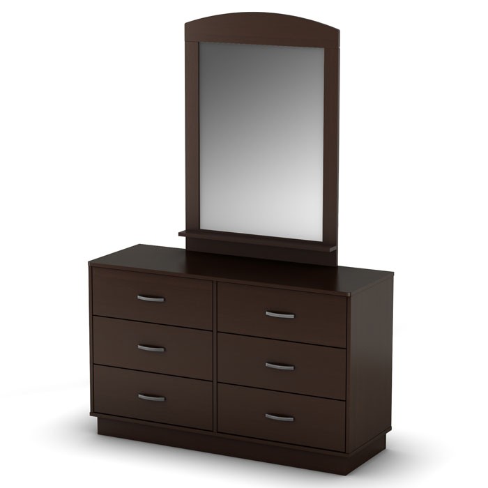 Logik Contemporary Dresser in Chocolate - SS-3359027
