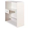 Logik Twin Loft Bedroom Set in White - SS-3360A4
