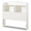 Logik White Twin Size Storage Headboard - SS-3360098