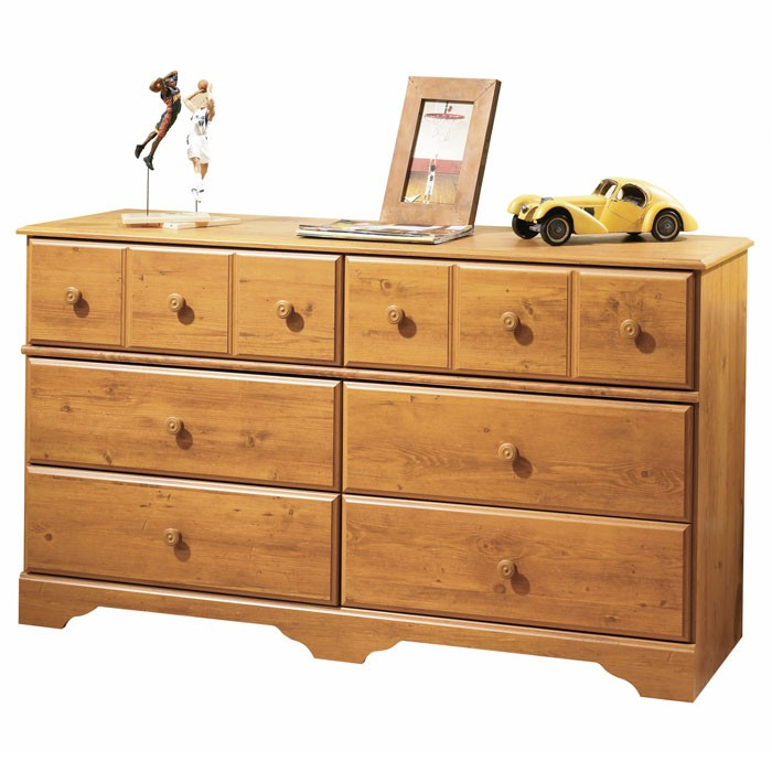 Little Treasures Country Pine Bedroom Dresser - SS-3432027