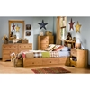 Little Treasures Country Pine Bookcase Bed - SS-3432080-3432098