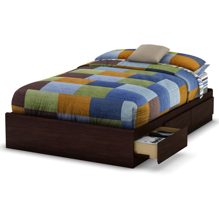 Lounge Full Mate's Bed in Havana Brown - SS-3439211