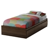 Cookie Twin Mates Bed - Mocha - SS-3471A1