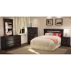 Noble Traditional Nightstand in Dark Mahogany - SS-3516060