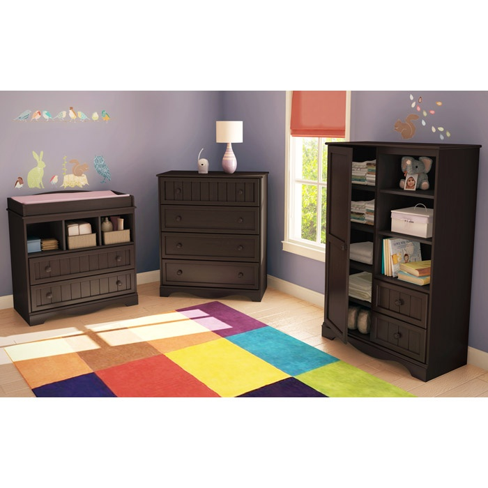Savannah 3 Piece Nursery Storage Set Ss 3519 3pc