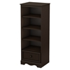 Savannah Shelving Unit - Drawer, Espresso - SS-3519022