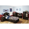 Savannah Twin Bookcase Headboard - Espresso - SS-3519B1