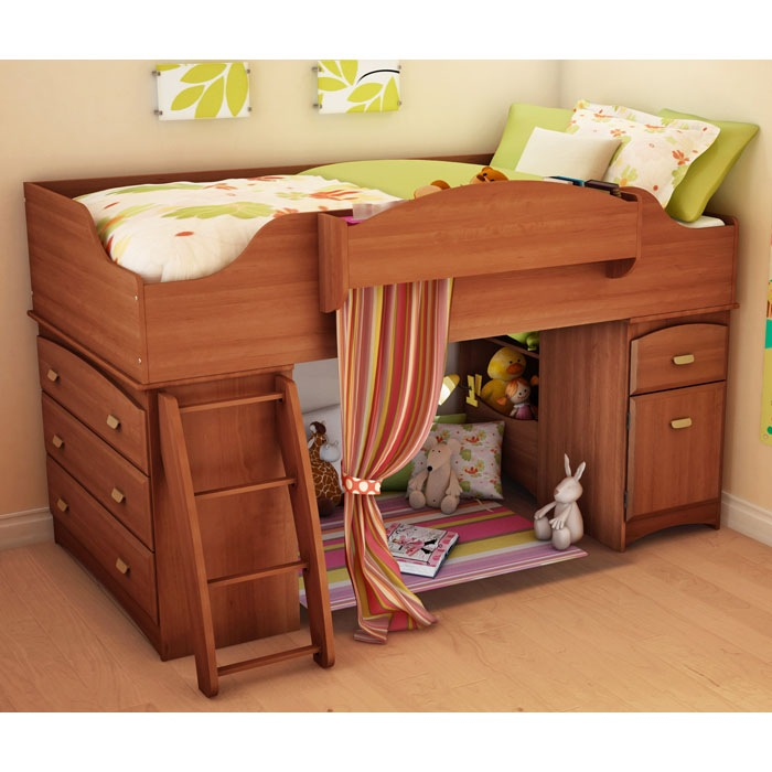 Imagine Twin Loft Bed with Storage - SS-3576A3