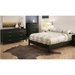Gravity Queen Platform Bed in Ebony - SS-3577203