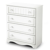 Savannah White 3 Piece Nursery Storage Set - SS-3580-3PC