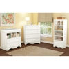Savannah Changing Table and Shelving Unit - Pure White - SS-3580B2