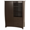 Beehive Armoire - 2 Drawers, Espresso - SS-3619038