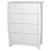 Beehive Chest - 4 Drawers, Pure White - SS-3640034