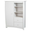 Beehive Armoire - 2 Drawers, Pure White - SS-3640038