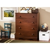 Heavenly 4-Drawer Chest in Royal Cherry - SS-3646034