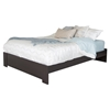 Gloria Queen Platform Bedroom Set - Chocolate - SS-3659-BED-SET