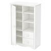 Heavenly Armoire - 2 Drawers, Pure White - SS-3680038