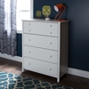 Little Smileys 4 Drawers Chest - Pure White - SS-3740034