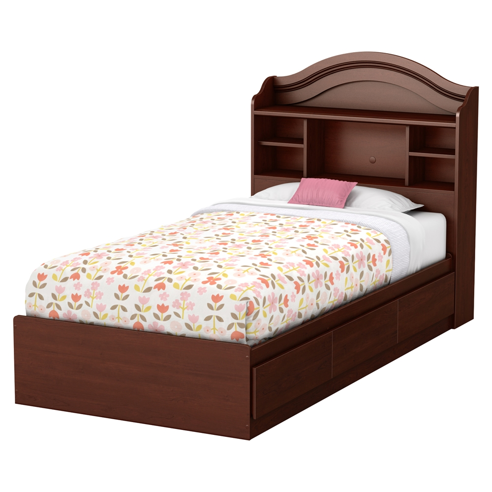 summer breeze twin mates bedroom set 3 drawers royal south shore summer breeze chocolate twin bedroom set the
