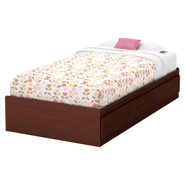 summer breeze twin mates bedroom set 3 drawers royal south shore summer breeze platform customizable bedroom