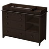 Little Smileys Changing Table - Espresso - SS-3759337