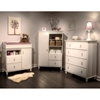 Moonlight Pure White 2-Drawer Changing Table - SS-3760332