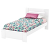 Reevo Twin Bedroom Set - Pure White - SS-3840-T
