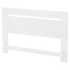 Reevo Full/Queen Headboard - Pure White - SS-3840270