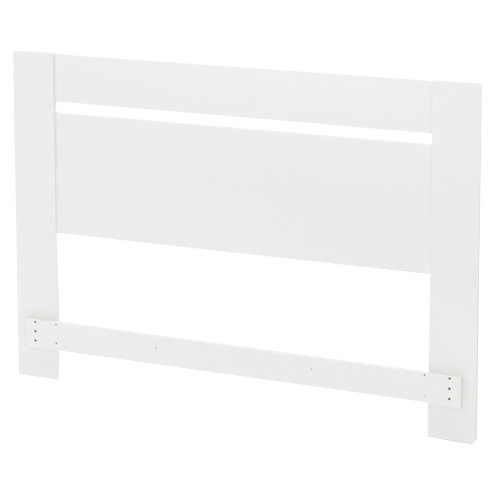Reevo queen platform bedroom set pure white dcg stores - White queen platform bedroom set ...