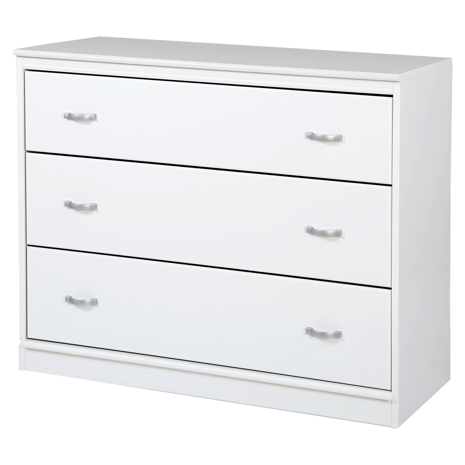 Mobby 3 Drawers Chest - Pure White - SS-3880033