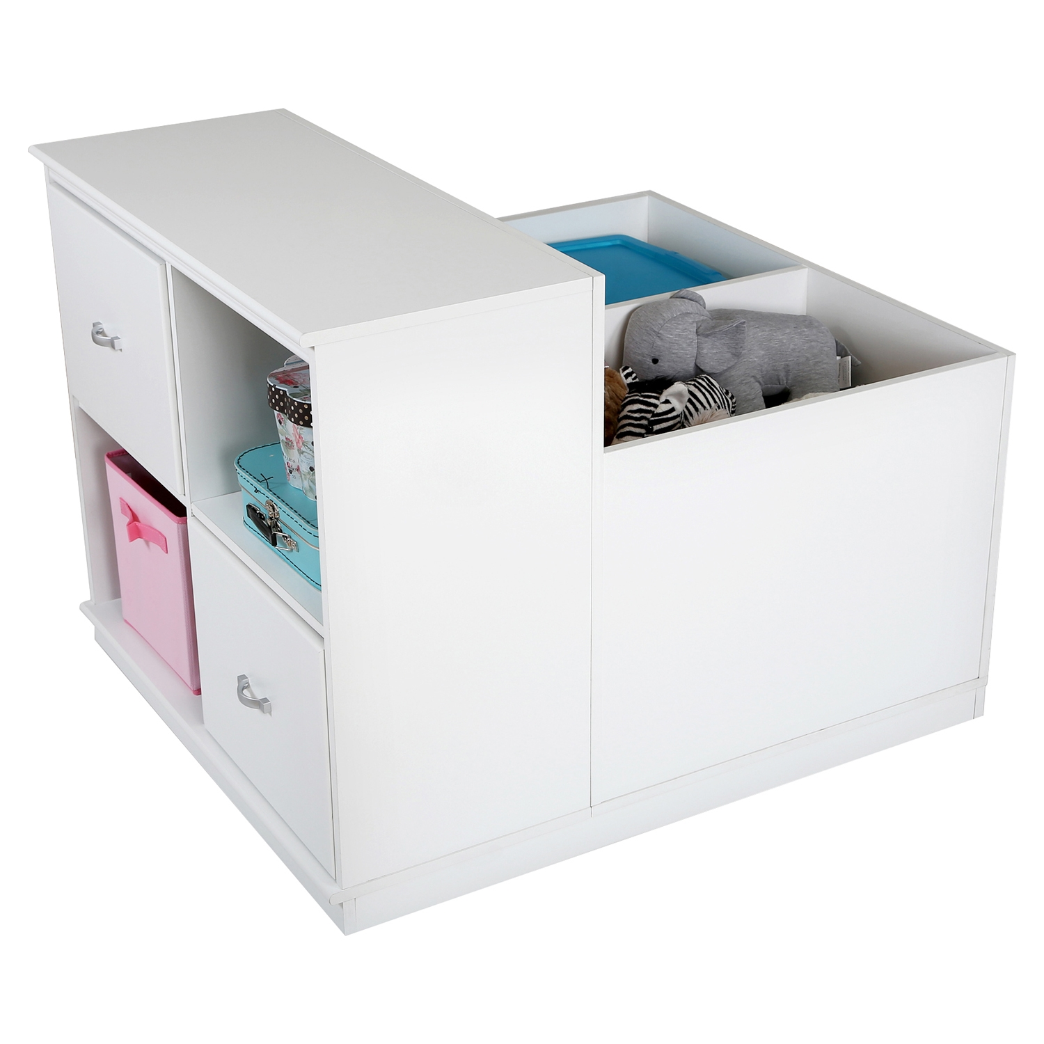 Mobby Mobile Storage Unit - Pure White - SS-3880776