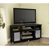 City Life Corner TV Stand - Pure Black - SS-4270690