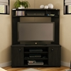 Vertex Corner TV Stand in Ebony - SS-4277629