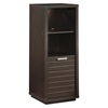 Skyline Chocolate Brown Bookcase / Display Case - SS-4359651