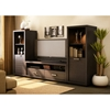 Skyline Chocolate Brown TV Stand - SS-4359663