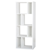 Reveal Shelving Unit - 8 Compartments, Pure White - SS-5150731