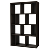 Reveal Shelving Unit - 12 Compartments, Chocolate - SS-5159730