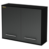 Karbon Wall Storage Cabinet - Pure Black - SS-5227972