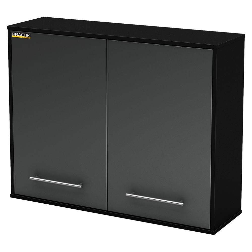 karbon wall storage cabinet pure black dcg stores. Black Bedroom Furniture Sets. Home Design Ideas