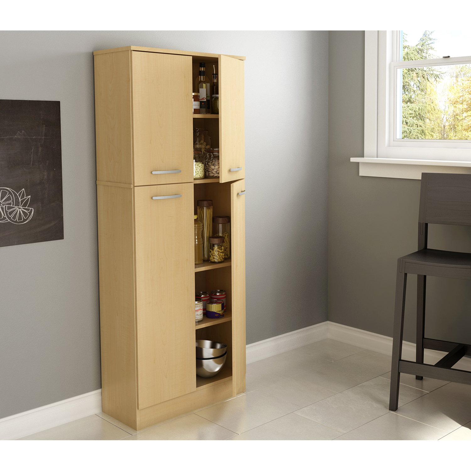 Axess Storage Pantry - Natural Maple - SS-7113971