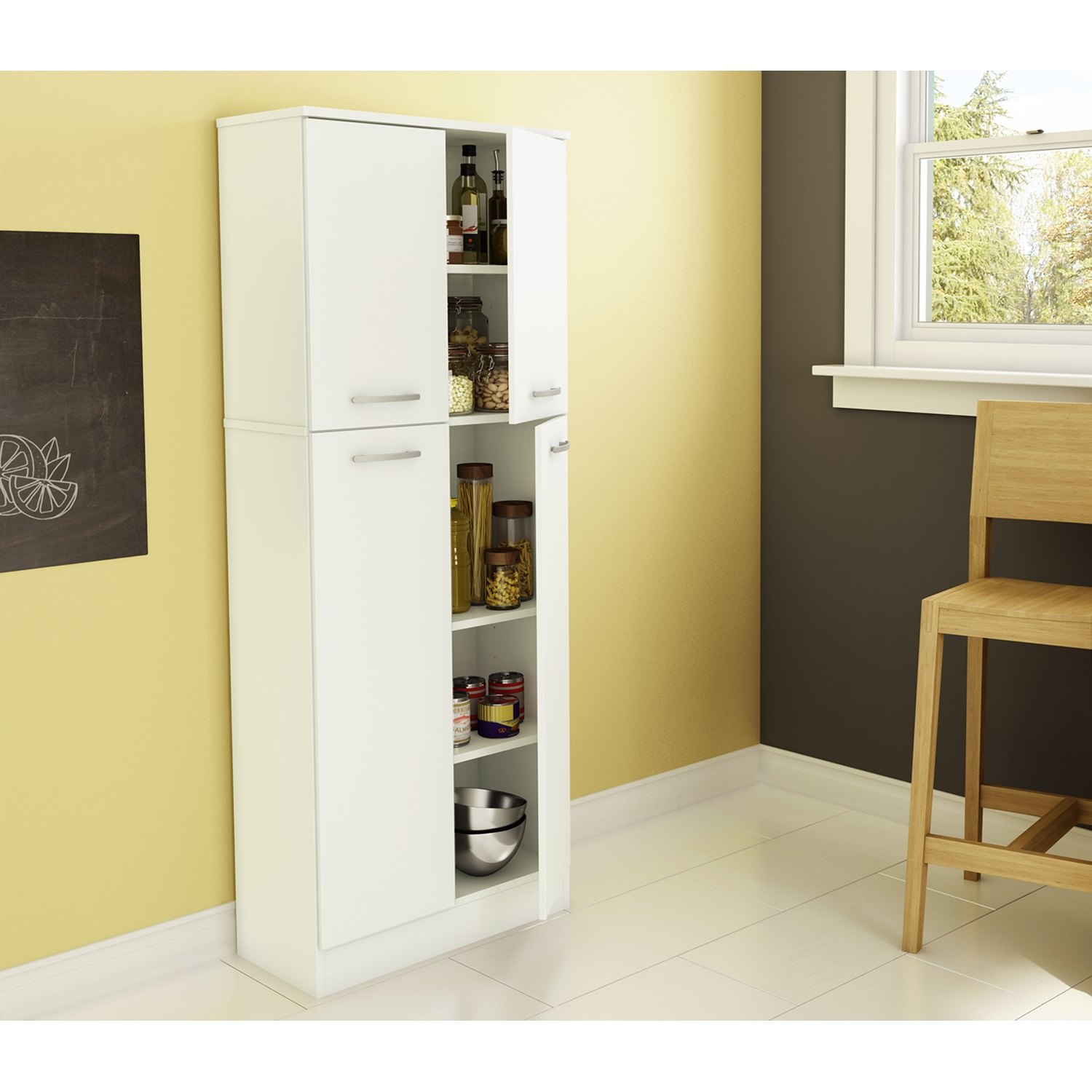 Axess Storage Pantry - Pure White - SS-7150971