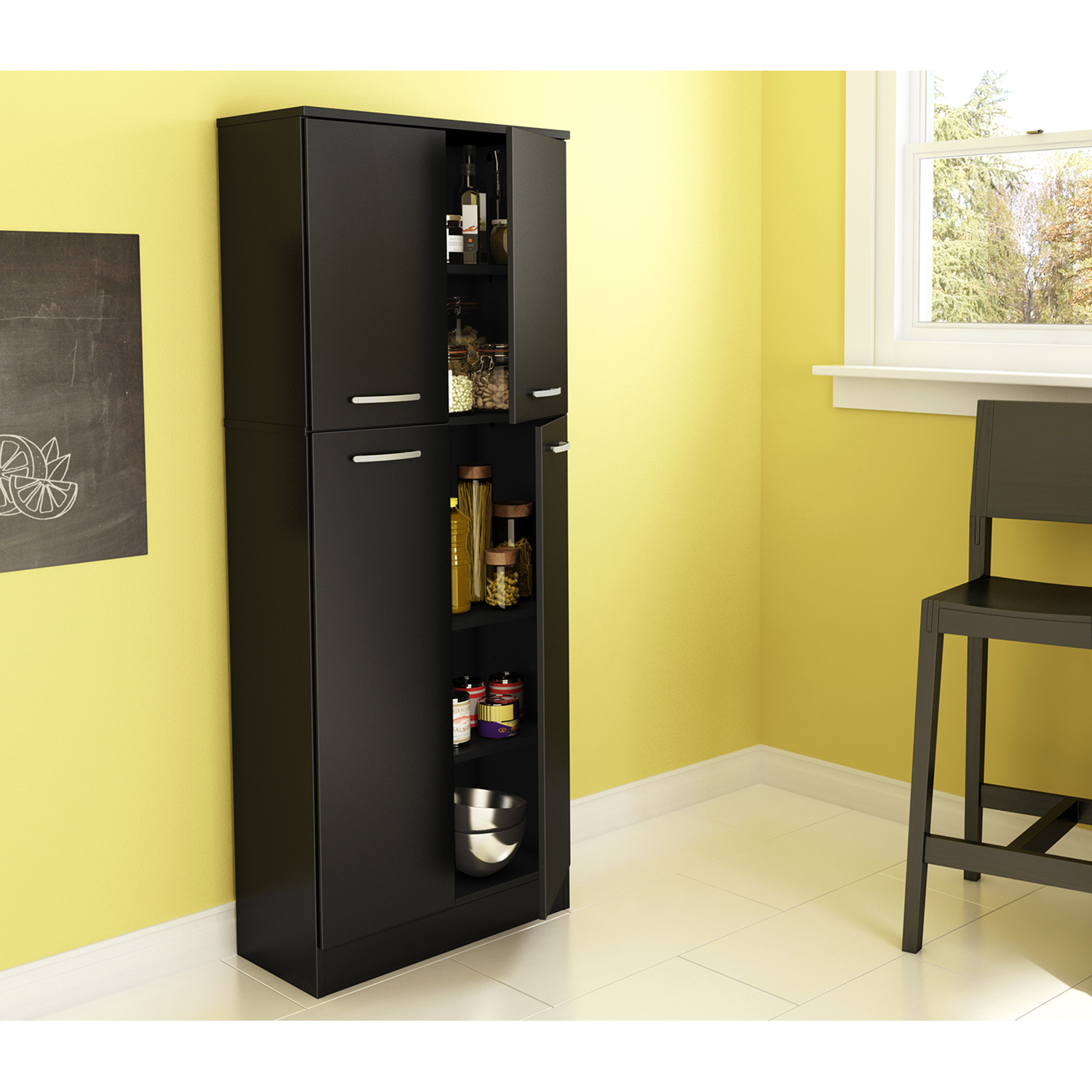 Axess Storage Pantry - Pure Black - SS-7170971