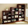 Axess 5-Shelf Bookcase in Royal Cherry - SS-7246768C