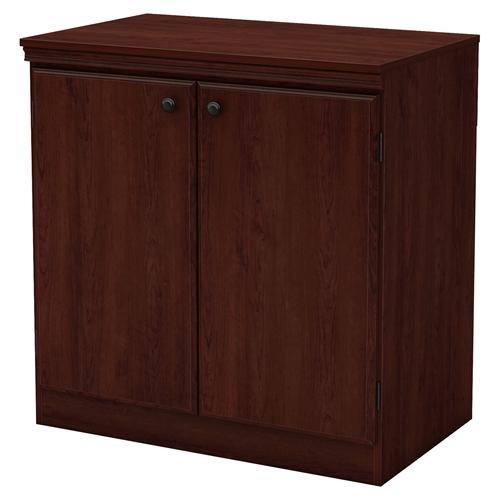 Cherry Royal Kitchen Cupboards: Morgan Storage Cabinet - 2 Doors, Royal Cherry