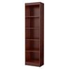 Axess 5 Shelves Narrow Bookcase - Royal Cherry - SS-7246758