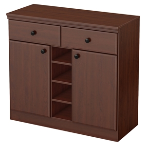 Morgan Sideboard - 2 Doors, 2 Drawers, Royal Cherry