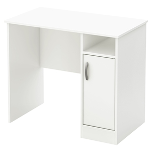 Axess Small Desk - Pure White