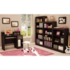 Axess Brown Bookcase / Display Unit with 5 Shelves - SS-7259768