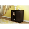 Morgan Storage Cabinet - 2 Doors, Chocolate - SS-7259722
